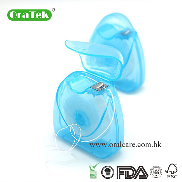 50M Triangle Ptfe Flat Slide Dental Floss